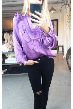 Line Beauty Shirt - Purple